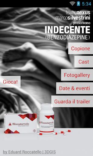 Indecente Benzodiazapine