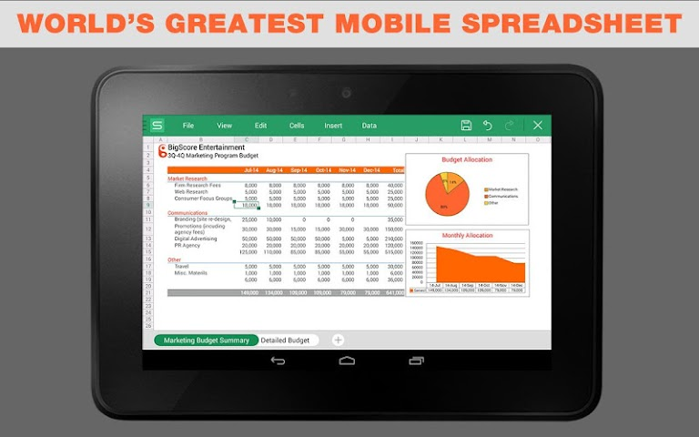 android WPS Office + PDF Screenshot 3