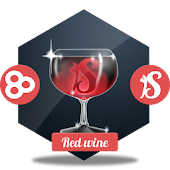 Red wine GO Launcher
