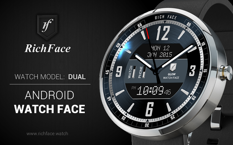 Download Dual Watch Face APK latest version App by RichFace