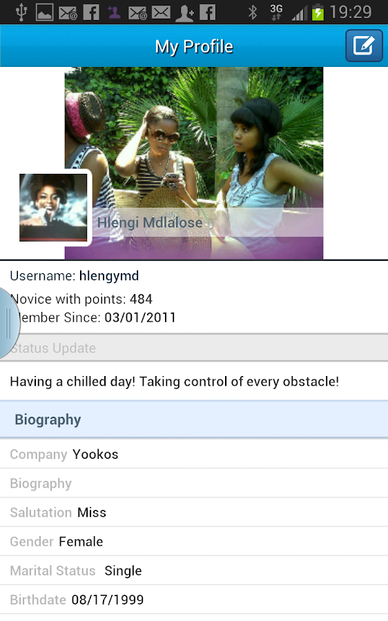 Yookos Mobile - screenshot