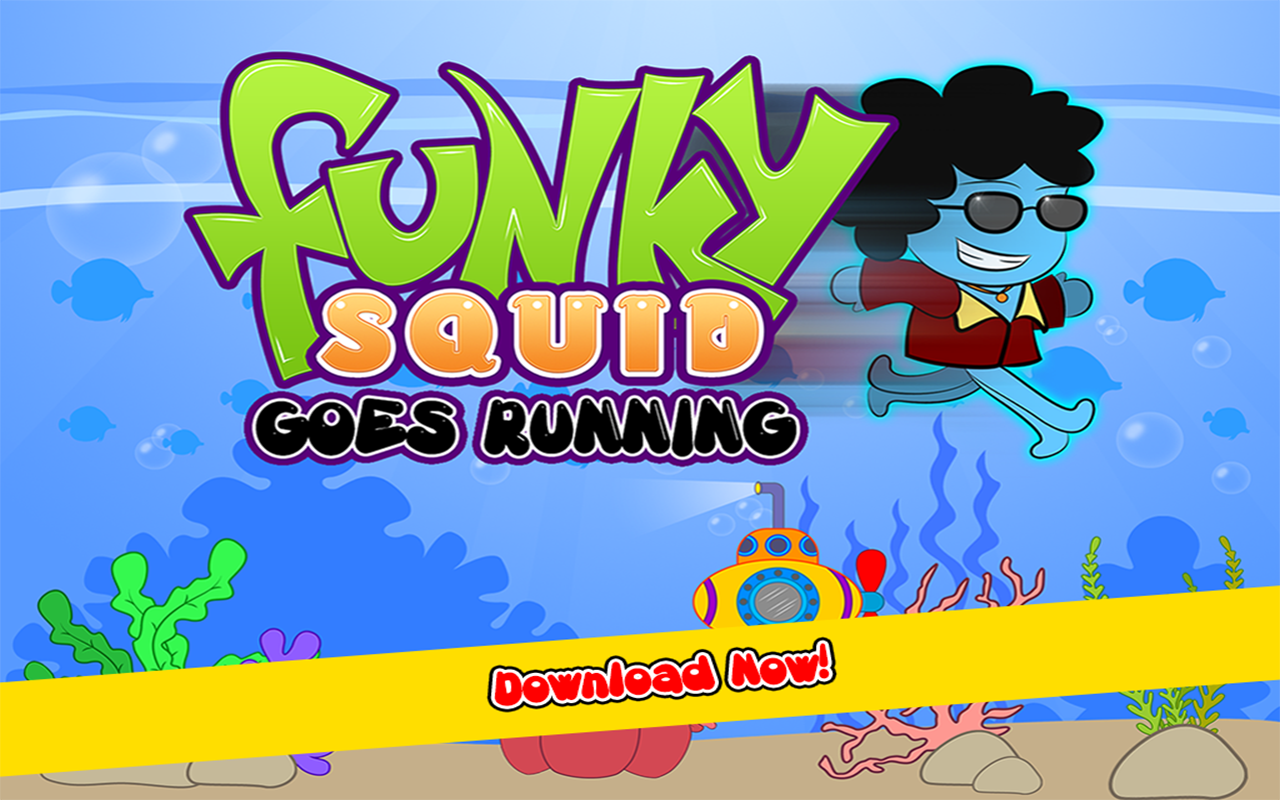 Funky Squid Goes Running- screenshot
