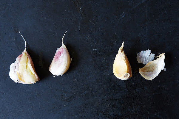 Bake a batch of homemade garlic bread.