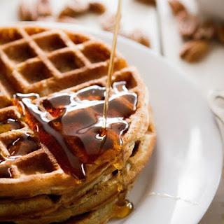 Pecan Oat Belgian Waffles