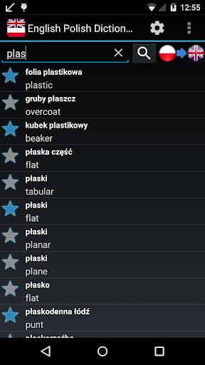English Polish Dictionary