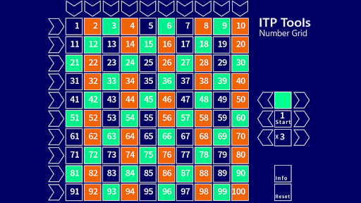 Number Grid ITP Tool