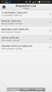 Infor Lawson Requisitions - screenshot thumbnail