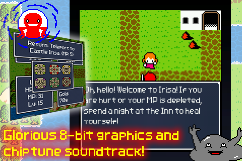 Aidinia • 8-bit RPG (Lite)- screenshot