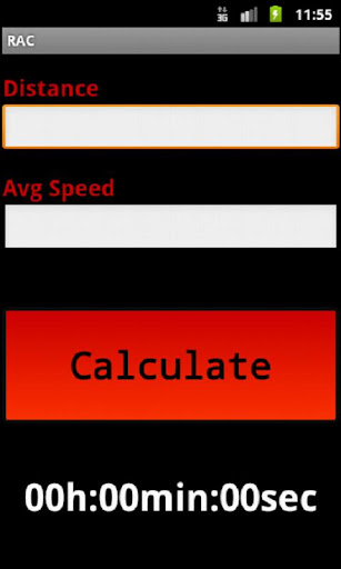 Rally Average Calculator