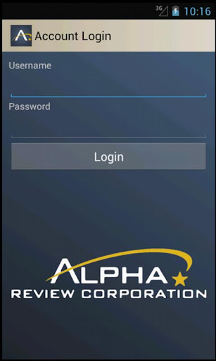 Alpha Review Corporation Demo