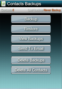 Backup & Restore Contacts/SMS screenshot 5