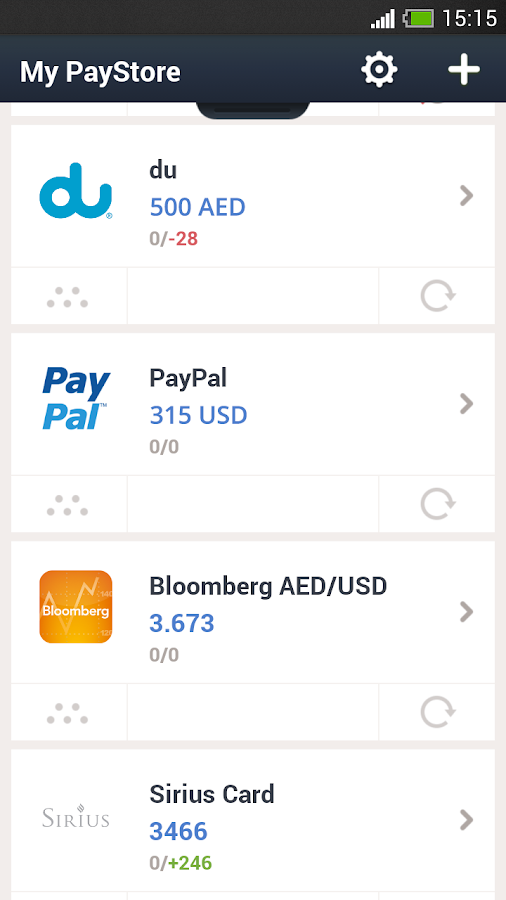 PayStore- screenshot