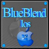 Blue Blend ios Next Launcher
