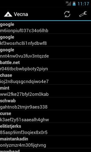 Vecna Password Manager  screenshots 1