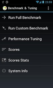 Benchmark & Tuning (Full) - screenshot thumbnail
