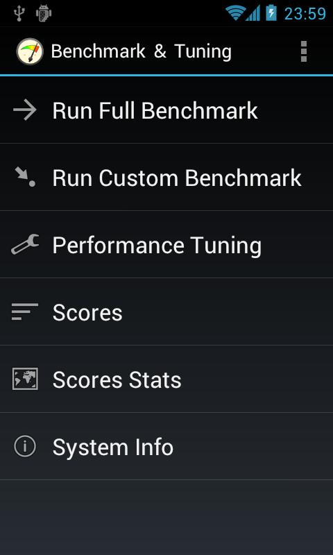 Benchmark & Tuning (Full) - screenshot