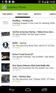 Dubstep Music News- screenshot thumbnail