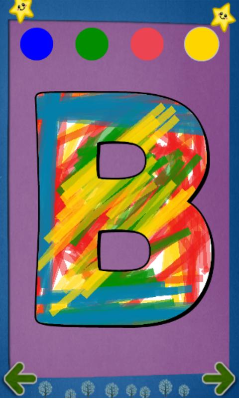 Alphabet Paint Lite for Kids- screenshot
