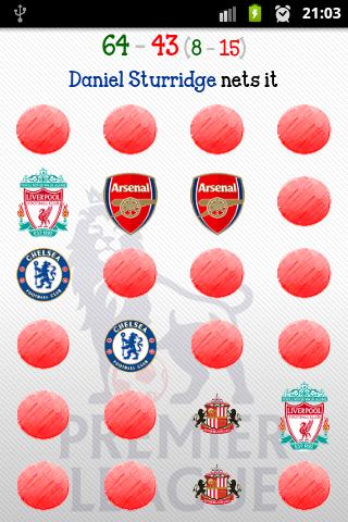 Premier League Memory Game