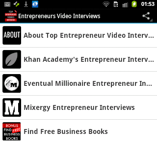 Entrepreneur Video Interviews