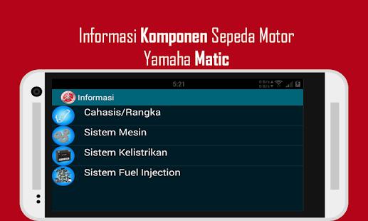 Informasi Yamaha Matic - screenshot thumbnail