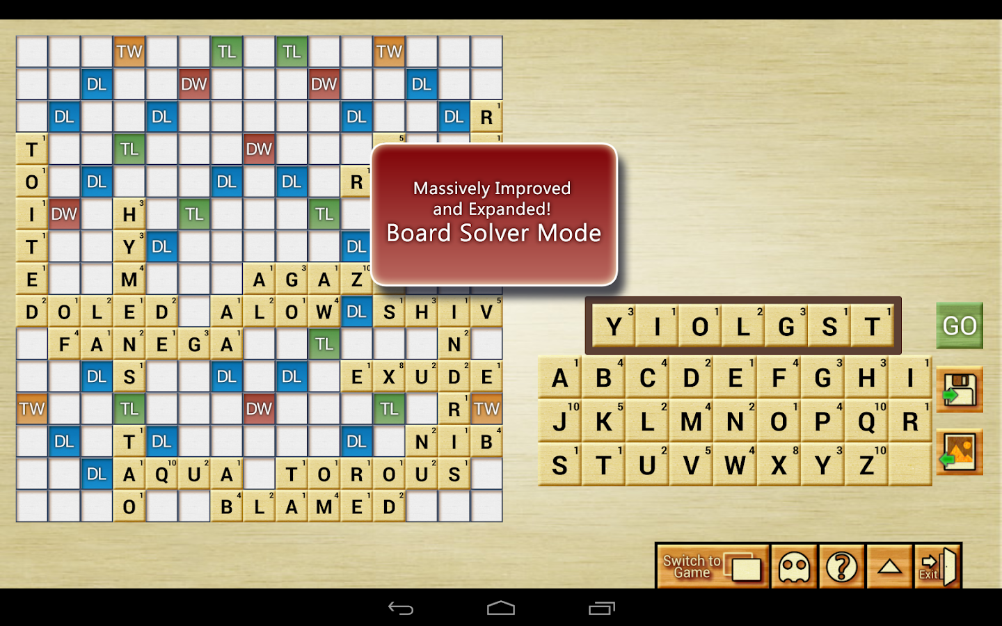 Word Breaker (Scrabble Cheat) - screenshot