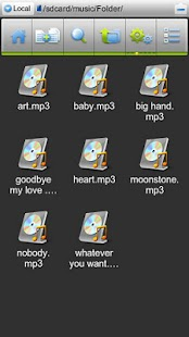 ES File Explorer (1.5 Cupcake)- screenshot thumbnail