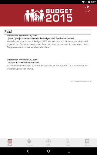 【免費新聞App】Singapore Budget-APP點子