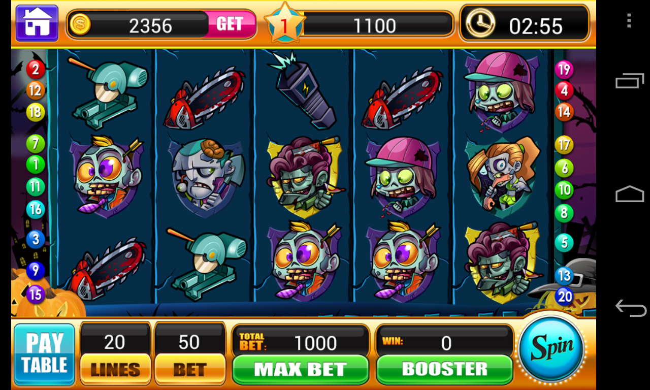 zombie slot machines