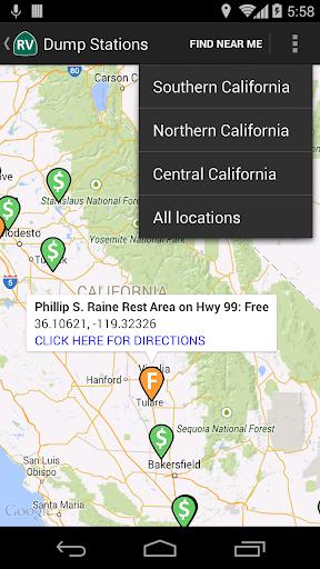 California RV Locations  screenshots 5