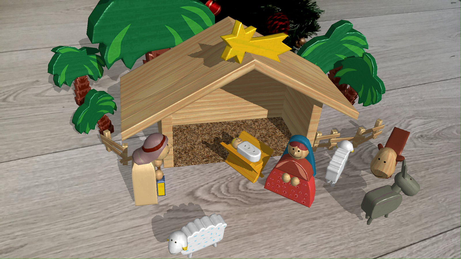 Nativity Scene AR- screenshot