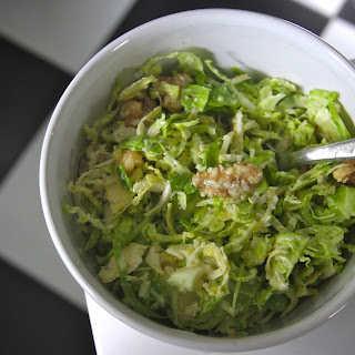 Addictive Brussels Sprouts Salad.