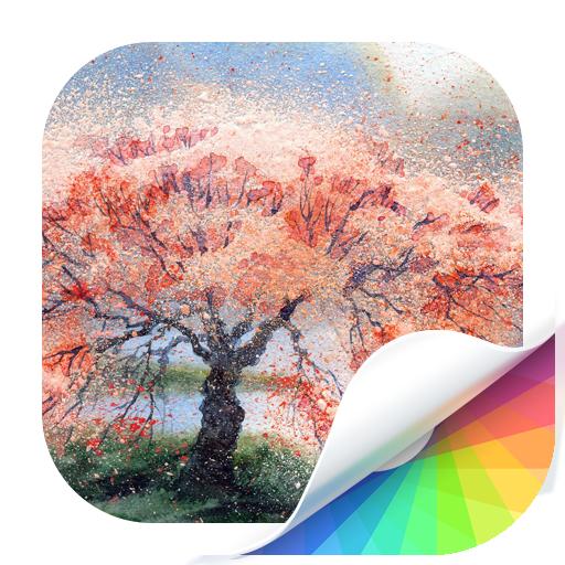 Gouache Wallpaper 個人化 App LOGO-APP試玩