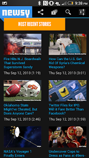 Newsy: Multisource Video News - screenshot thumbnail