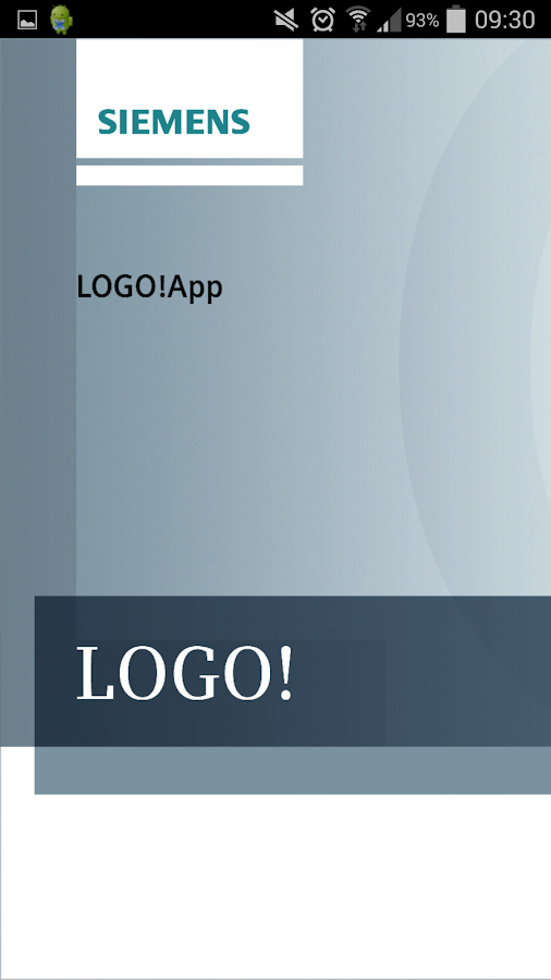 LOGO! App - screenshot