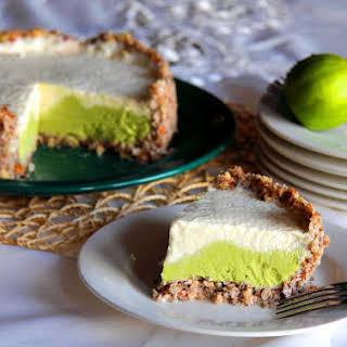 Lime, Avocado and Yoghurt Cake.