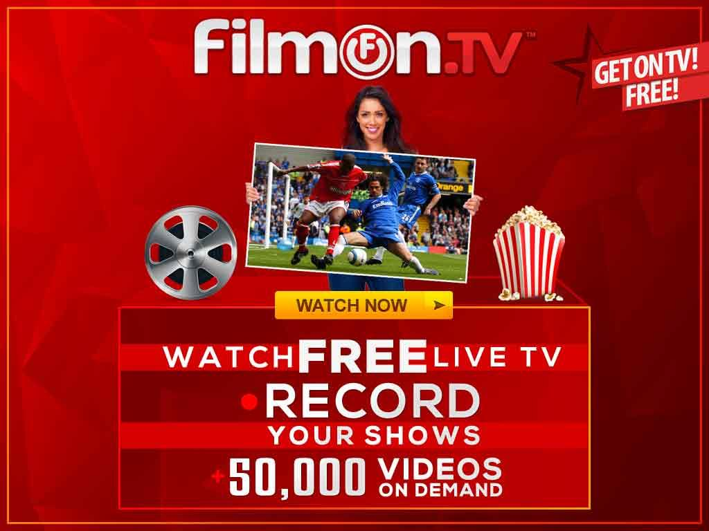 FilmOn EU Live TV Chromecast- screenshot