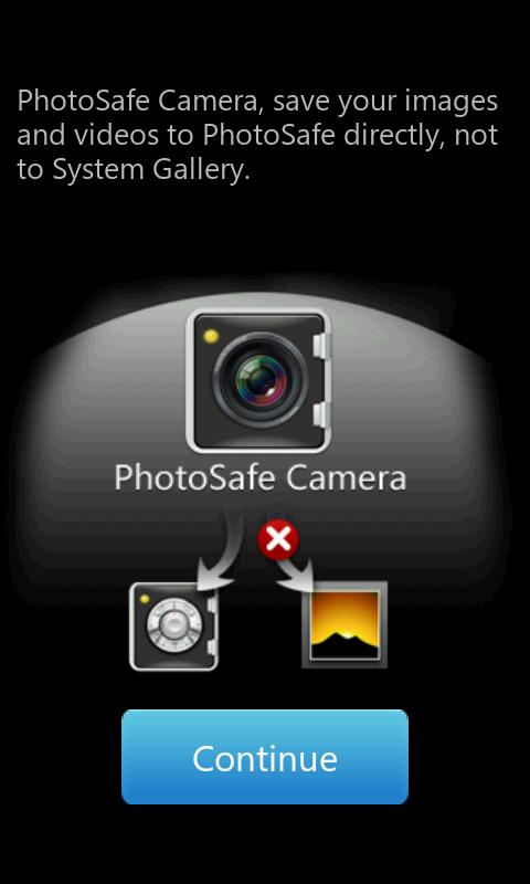 PhotoSafe - Gallery Photo Hide - screenshot