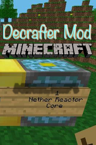 Decrafter Mod for MCPE