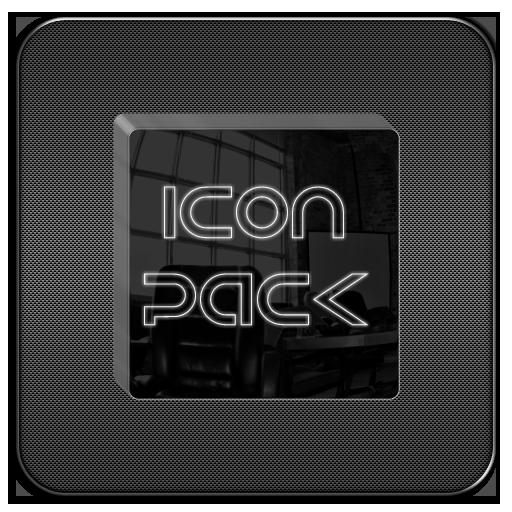 Black Glass Icons