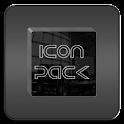 Black Glass Icons icon