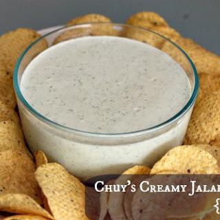 Chuy's Creamy Jalapeno {copycat}.