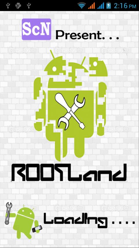 Root android : Rootland - screenshot