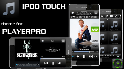 PlayerPro Skin IPOD TOUCH