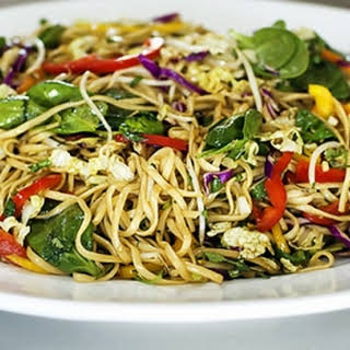 Asian Noodle Salad.