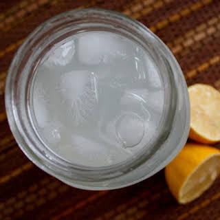 Homemade Lemon-Lime Sports Drink.