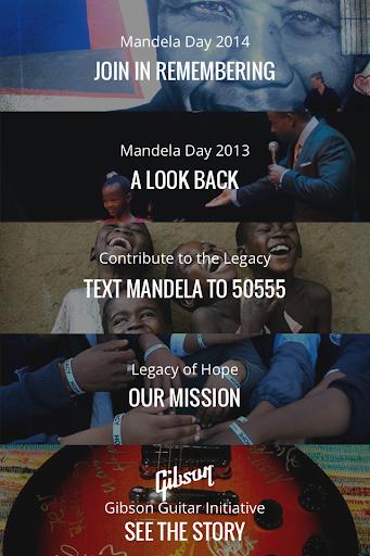 Legacy of Hope - Mandela