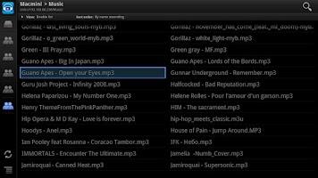 Screenshot of ViMu Media Player for TV