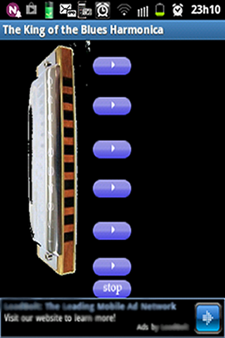 玩娛樂App|The King - Blues Harmonica免費|APP試玩