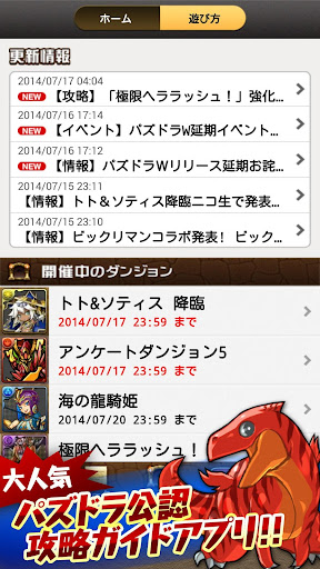 Puzzle Dragons User's Guide